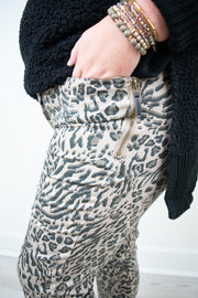 Animal Side Zip Jegging | Democracy