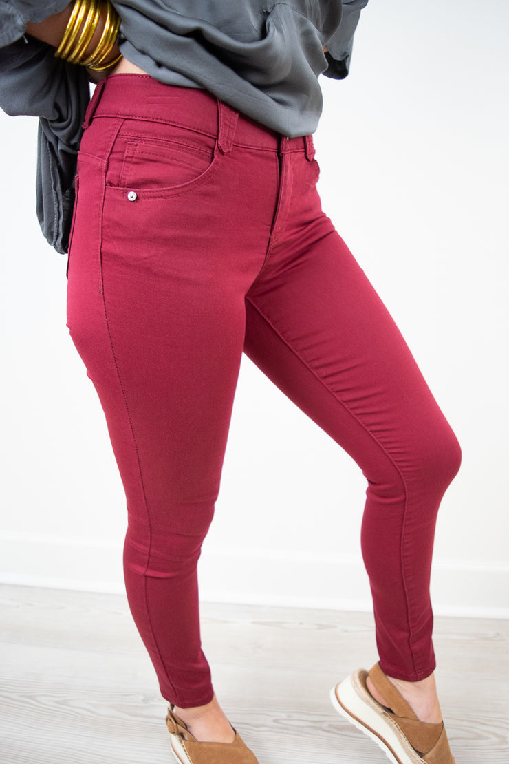 Ab Solution Ankle Jean | Democracy