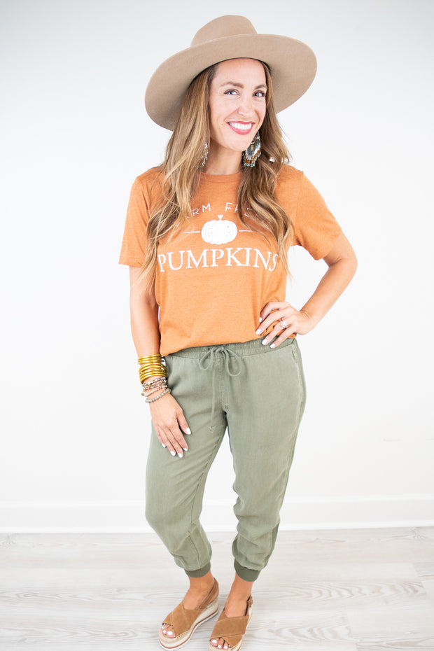 Farm Fresh Pumpkin Tee