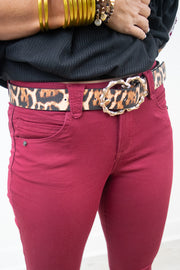 Fall in Love Leopard Belt