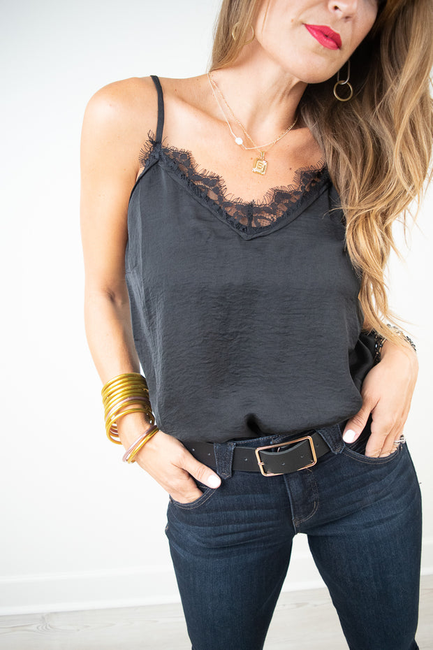 After Hours Lace Tank