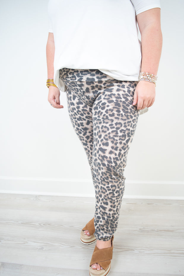 Cha Cha Animal Leggings PLUS SIZE