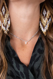 Strike Out Choker - Silver