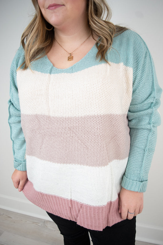 Felicia Stripe Sweater