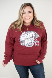 Helmet Game Day Sweatshirt