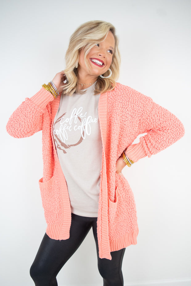 Feelin' Good Popcorn Cardi