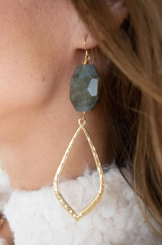 Jennifer Stone Earrings | Laborite