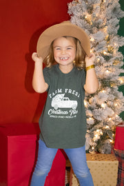 Farm Fresh Spruce - KIDS TEE