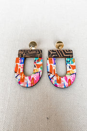 Abby Earring - Abstract