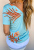 Tropical Punch Tie Top | Tribal