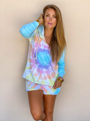 Keep It Up Tie Dye Hoodie