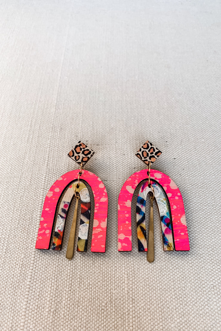 Dorothy Earring - Abstract