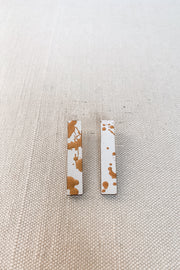 Beatrice Earring - Gold White