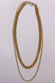 Underneath The Layers Gold Necklace