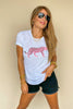 Every Girls Dream Pink Leopard Tee