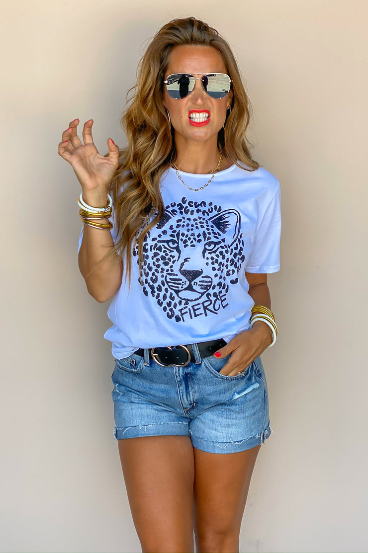 Fierce Cheetah Tee