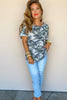 The Relaxed Camo Top