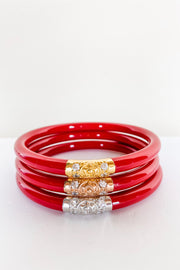 Budha Girl Bracelet - Red