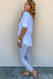 Sleep Shirt + Wide Leg Pant Set | Bella Dahl