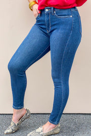 High Rise Super Skinny | Just Black Jeans