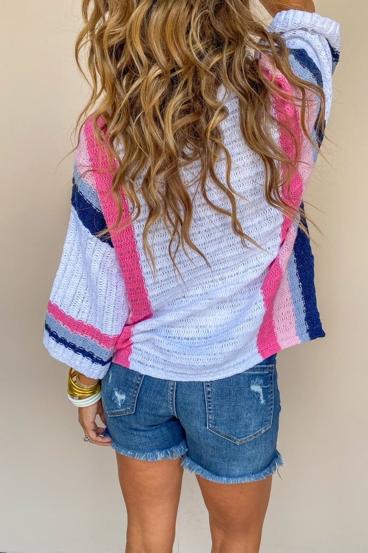 Sweet Dessert Stripe Top