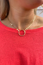 Passion Circle Necklace