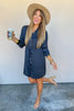 Irreplaceable Button Down Dress - FINAL SALE