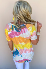 Following You Tie Dye Top