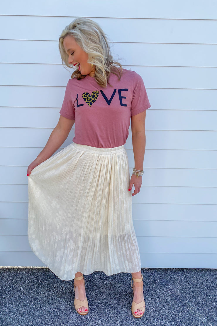 Free Spirit Pleated Skirt