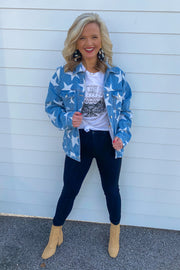 Seeing Stars Distressed Jacket