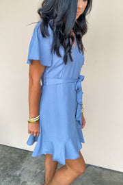 The Sweetheart Wrap Dress