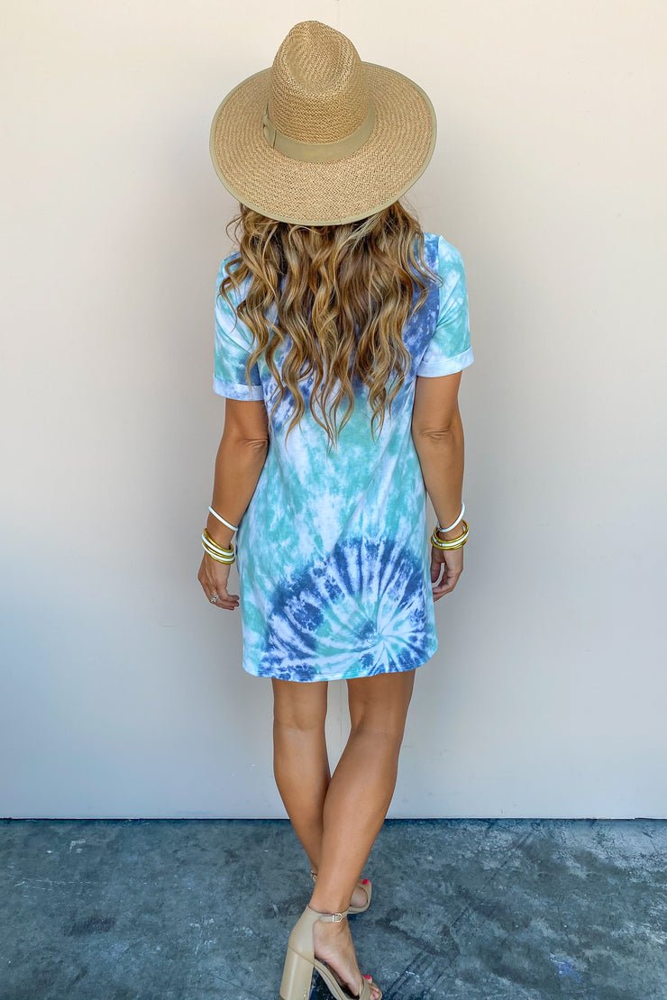 A Good Time Tie Dye Dress