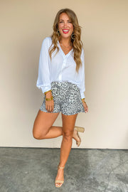 Irreplaceable Button Down Blouse - FINAL SALE