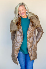 Warming Up Faux Fur Jacket - FINAL SALE
