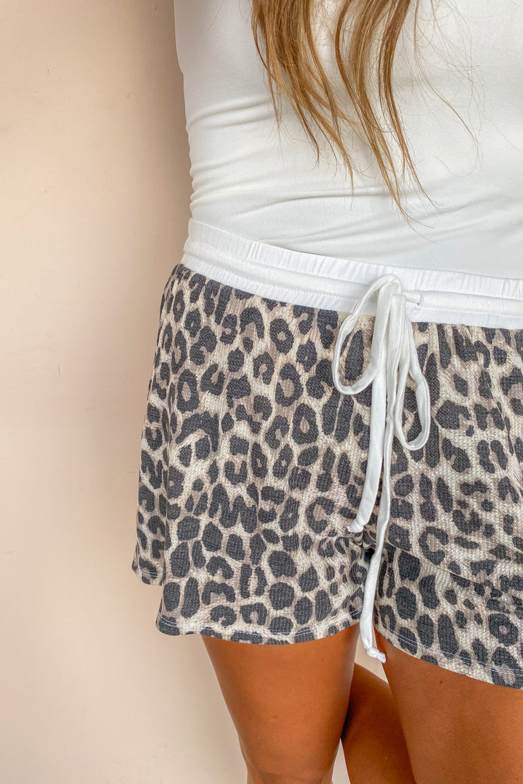 Leopard Thermal Shorts
