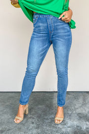 Swear By Pull On High Rise Slim Jean | Tribal