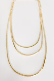 Sweet Surrender Dainty Herringbone Necklace
