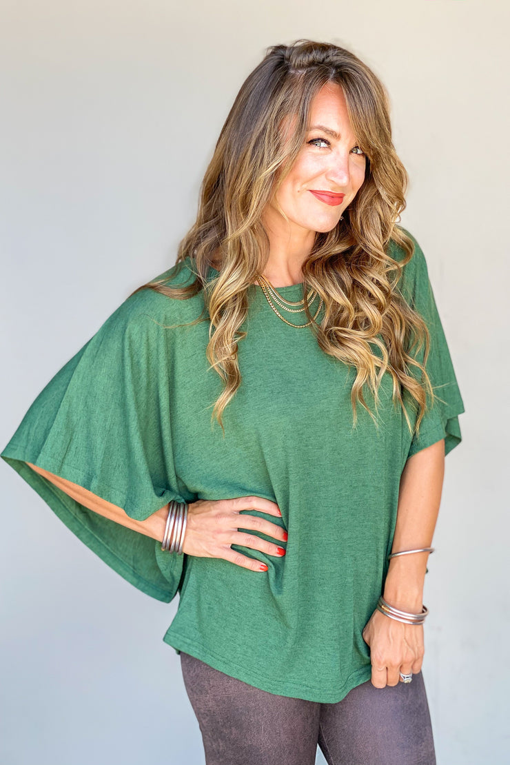Millie Kimono Sleeve Top - FINAL SALE