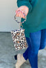 Hidden Leopard Key Ring Clutch