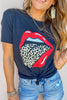 Leopard Tongue Graphic Tee