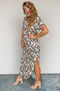 Into Your Arms Leopard Maxi Dress