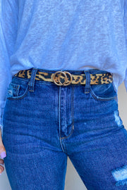 Itty Bitty Animal Print Belt