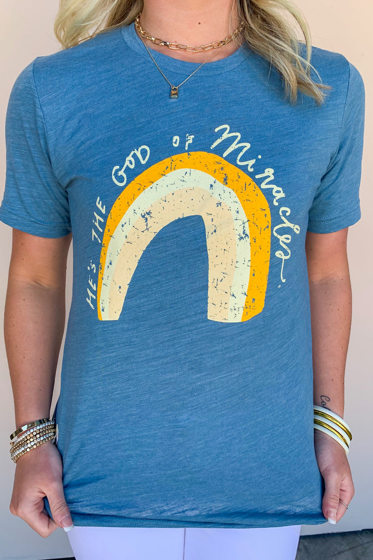He's The God Of Miracles Tee