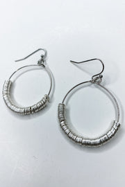 Reina Hoop Earrings