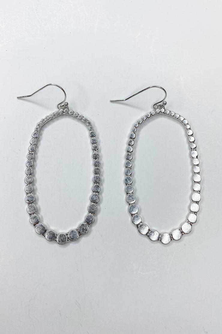 Oval My Head Earrings - FINAL SALE