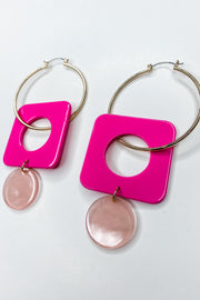 Sugar Sweet Fuschia Earrings