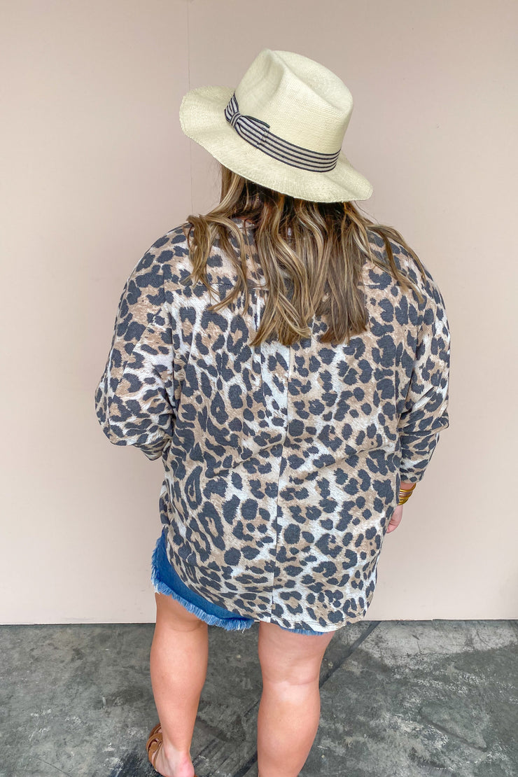 Put It On Me Leopard Top