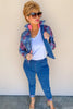 Alexis Reversible Denim Jacket | Joseph Ribkoff