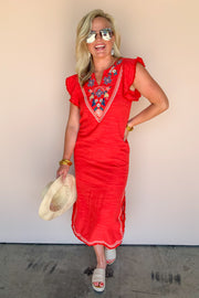 Savannah Embroidered Dress