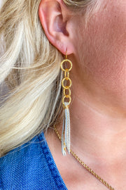 Flammin Haute Leather Earring